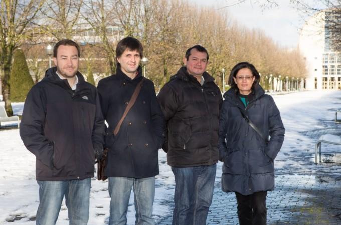 Investigadores de la UPNA estudian el uso de nuevas tecnologías para monitorizar el estado hídrico de las viñas