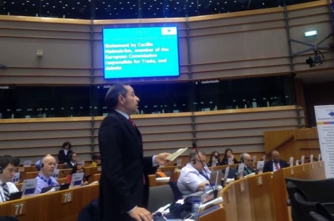 Navarra pide en Bruselas que se defiendan las denominaciones de origen en el tratado comercial con USA