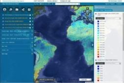 Captura del GlobalAtlas en cuyo desarrollo ha colaborado CENER.