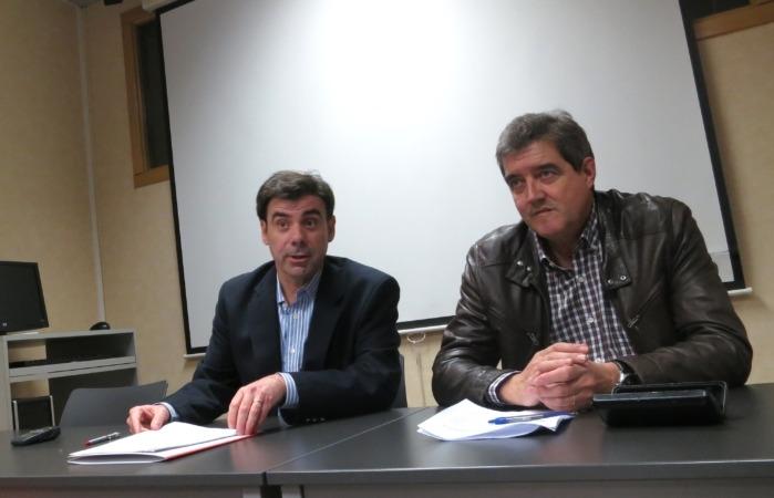 Ignacio Ugalde - ANEL -  y Juan Carlos Artazcoz - Gobierno de Navarra -