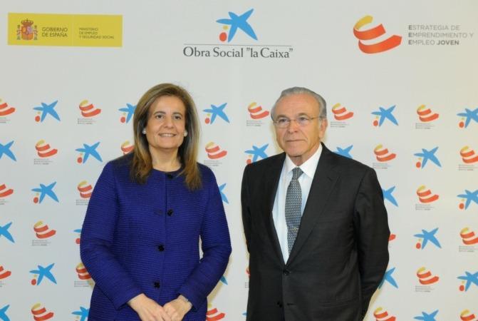 Isidró Fainé Presentación plan jóvenes autónomos Obra Social la Caixa (2)
