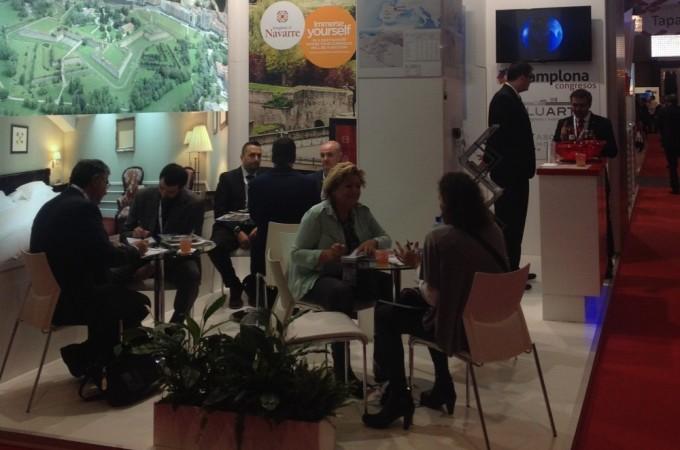 El turismo de reuniones creó 126 puestos de trabajo en Navarra en 2014
