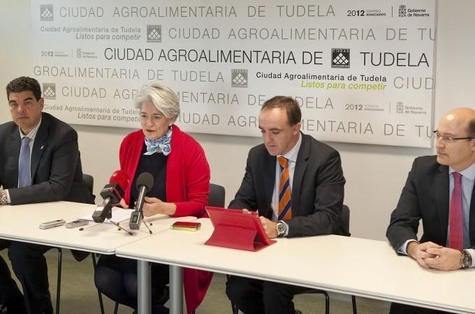 El Gobierno impulsa en la Ciudad Agroalimentaria de Tudela un proyecto de atracción de empresas del sector