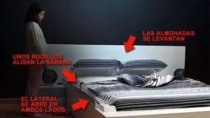 Prototipo de la cama Ohea