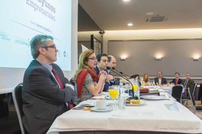 """Marta Fernández Currás: """"Navarra ha hecho bien sus deberes logrando reducir su déficit al 0,99%"""""""