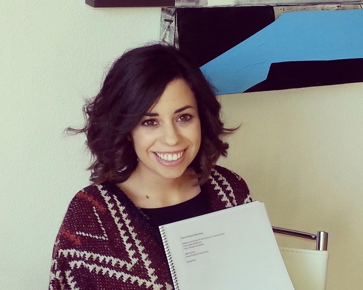 """Itziar Urtasuna, autora de """"Desarrollo de una Guía Práctica sobre Riesgos Psicosociales"""""""