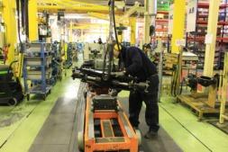 """Según Manu Ayerdi, los datos muestran que la actividad económica y empresarial de Navarra es """"sólida y firme""""."""