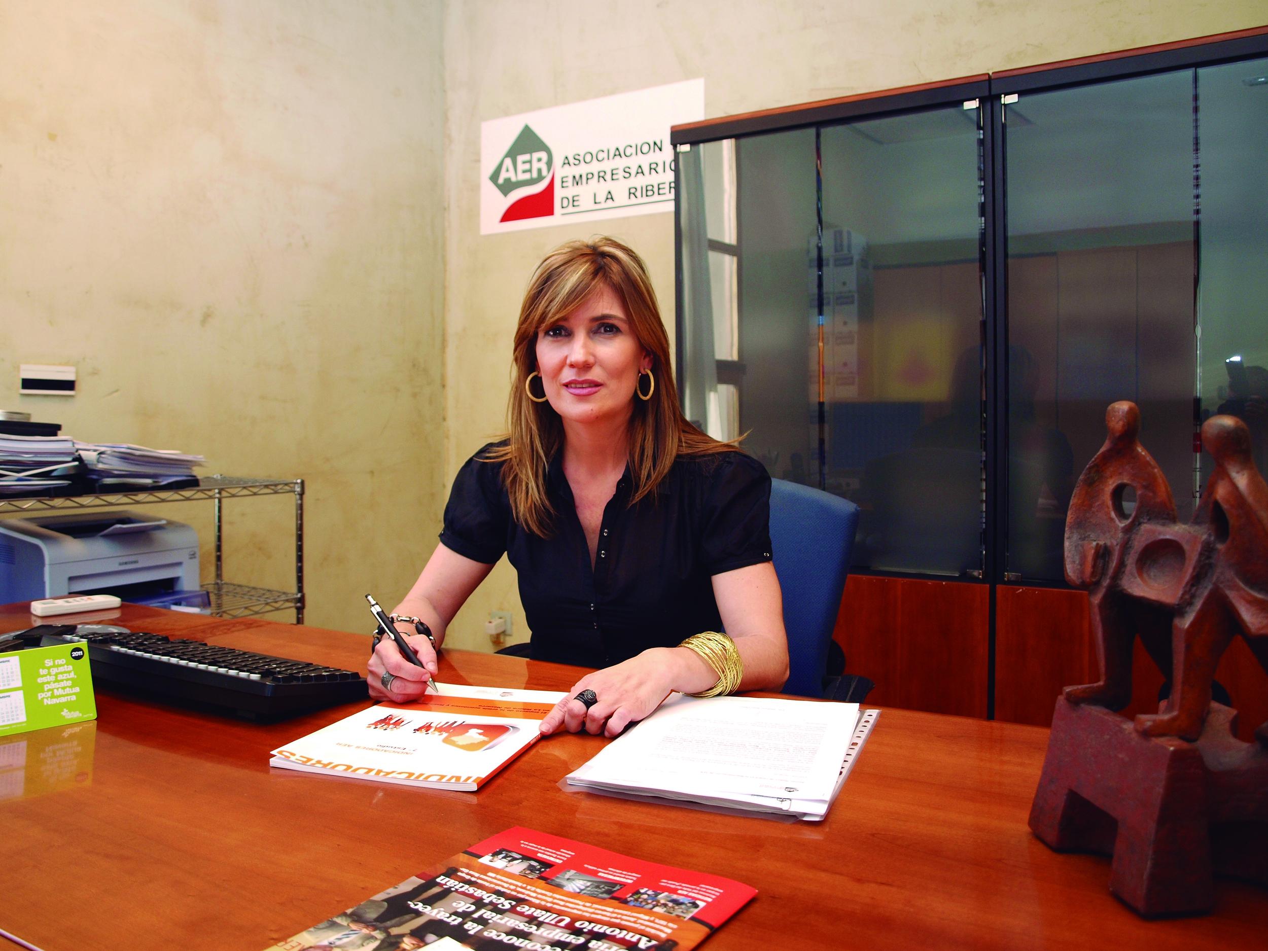Laura Sandúa, presidenta de AER