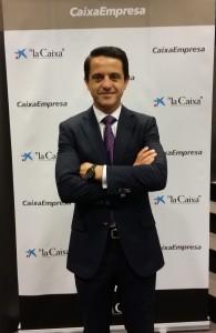 Raúl Carmona, responsable de la oficina de La Caixa en Chile
