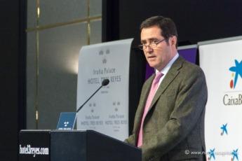 Antonio Garamendi en su intervención en los Desayunos Empresariales de NavarraCapital.es