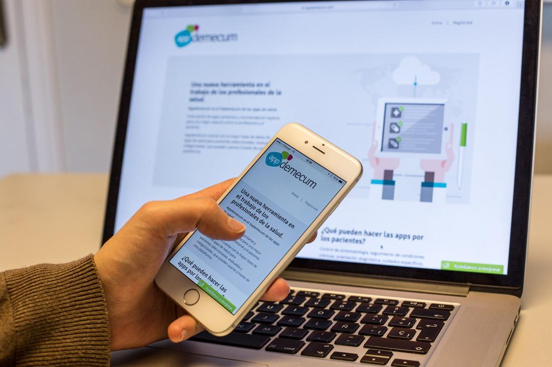 Imagen de la plataforma Appdemecum