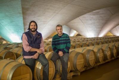 G.Penso y J.L. Ruiz, de Bodegas Otazu