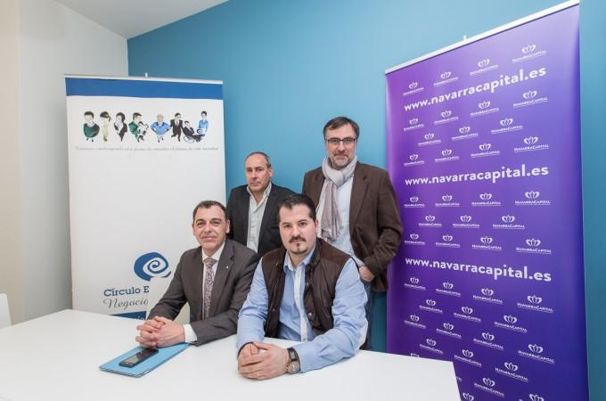 Acuerdo de colaboración entre Círculo Empresarial Negocios y Valores y Navarra Capital