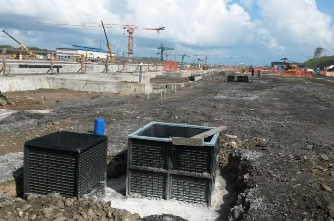 Una empresa navarra en el Canal de Panamá
