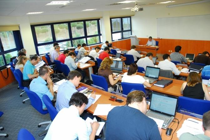 Imagen de una clase impartida por ESIC