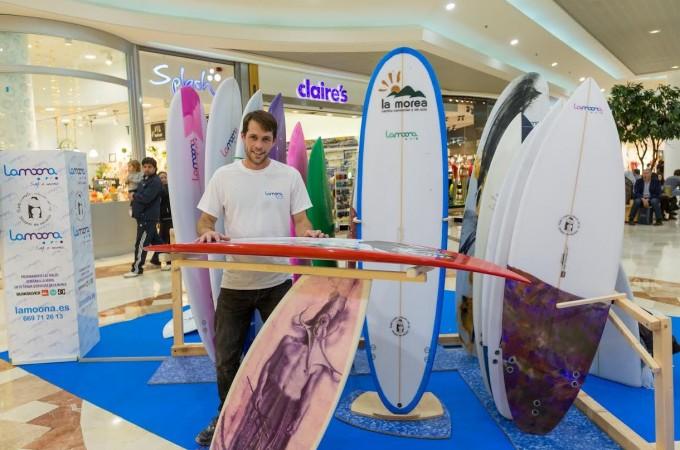 Lamoona presenta su última colección de tablas surf