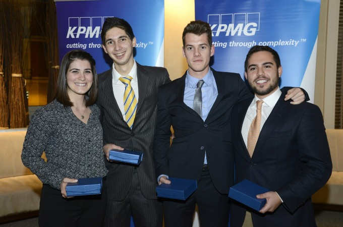 Estudiantes de la UN, finalistas en la KPMG International Case Competition