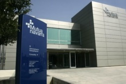 Sede de Mutua Navarra en Pamplona.