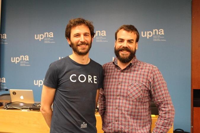 Aritz Suescun y Joserra Díaz