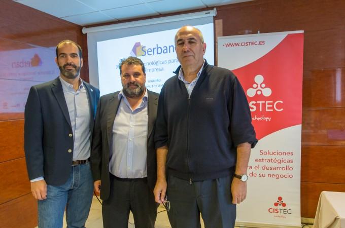 CISTEC technology y SERBAN anuncian su fusión para convertirse en el laboratorio tecnológico de la banca