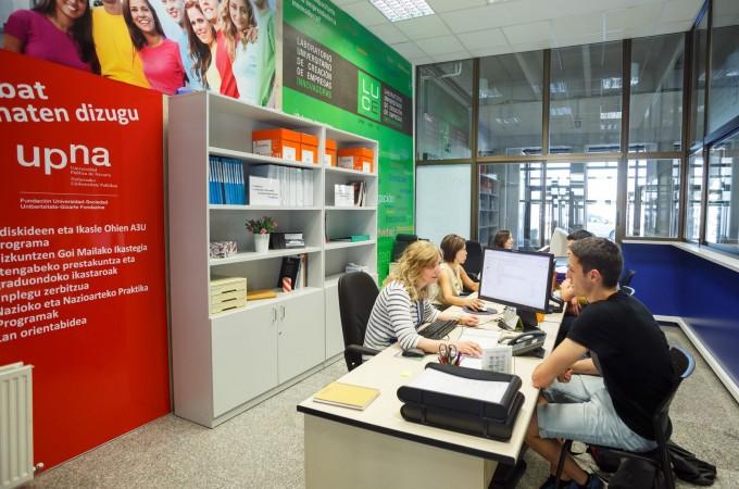 UPNA+, un nuevo punto de información sobre empleo y emprendimiento