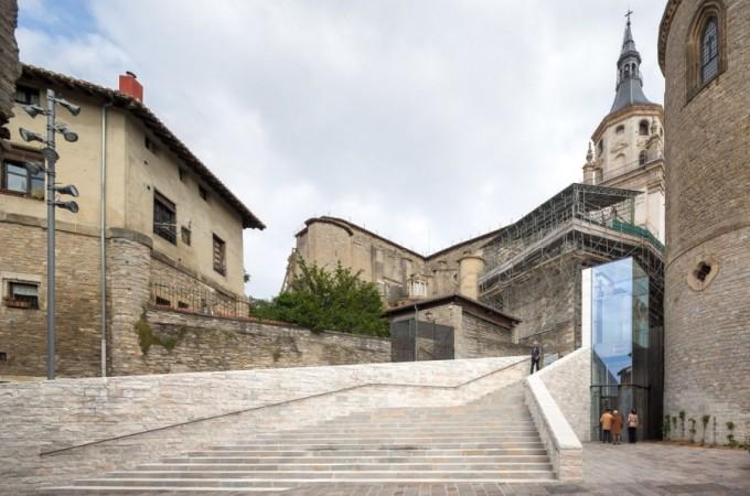 Premio internacional para los arquitectos navarros Fernando Tabuenca y Jesús Leache