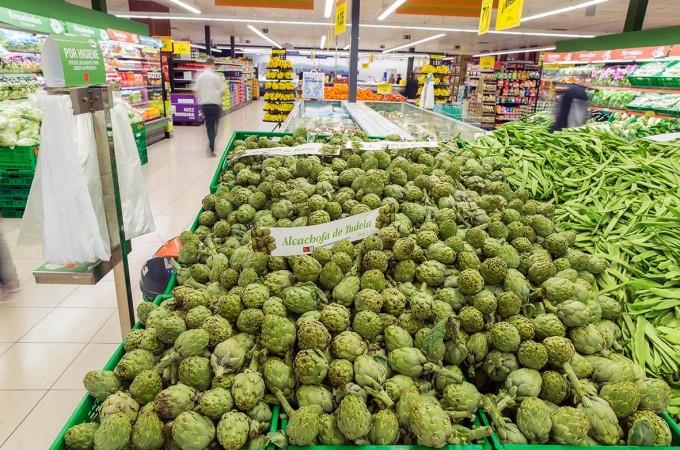 Mercadona compra más de 300.000 kilos de alcachofa de Tudela