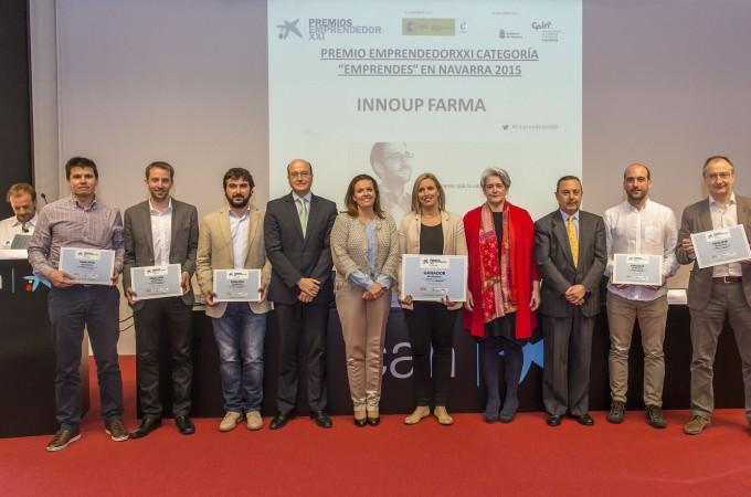 InnoUp Farma gana el IX premio EmprendedorXXI en Navarra