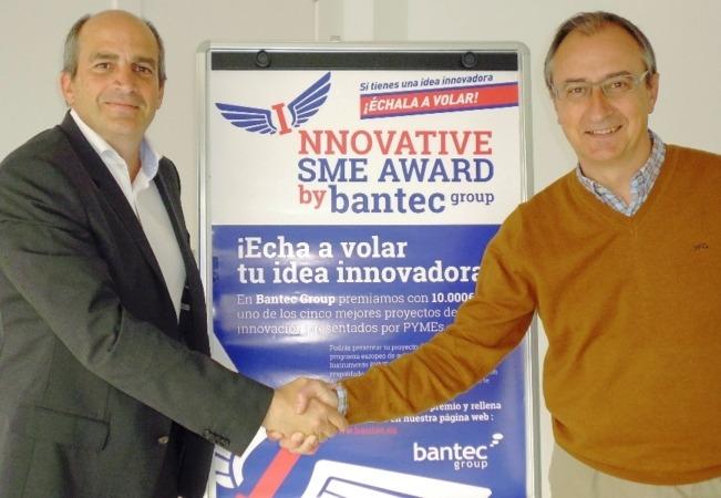 Miguel Isaacs (CEO Bantec) y Goyo Sanzol (D. G. Pentabiol)