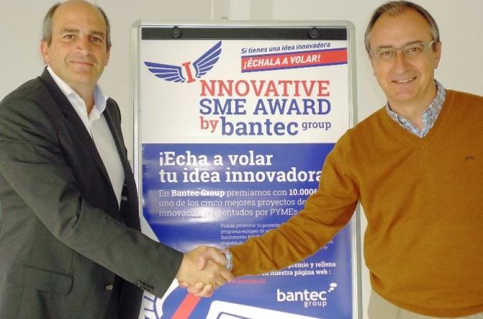 Bantec premia con 10.000 euros a la pyme navarra 'Pentabiol'