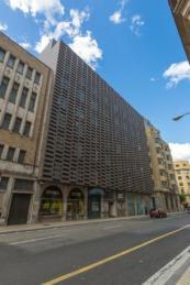 Imagen de la sede del departamento de Hacienda y Política Financiera del Gobierno de Navarra.