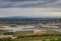 Polígono industrial en Tudela.