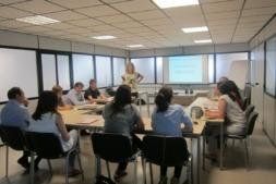 Imagen de una formación de trabajadores  (archivo)
