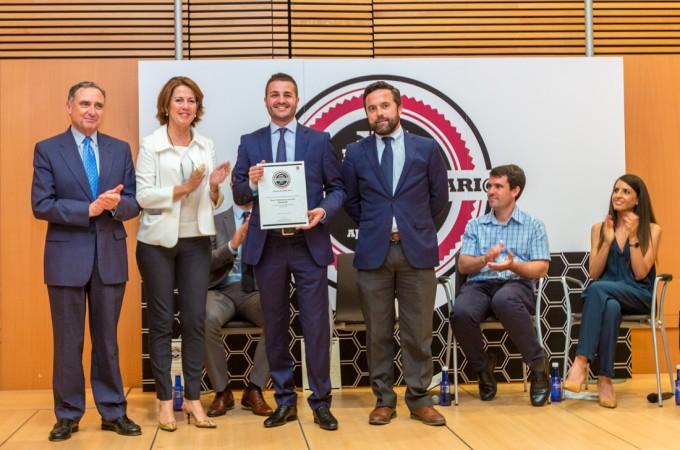 Óscar Villafranca, premio Joven Empresario Navarro 2014