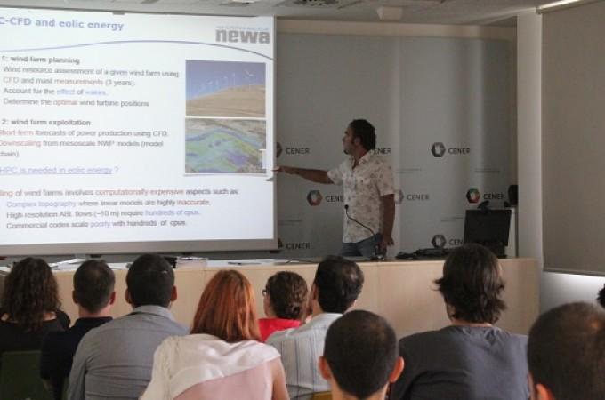 CENER presenta el proyecto internacional NEWA a la industria eólica española