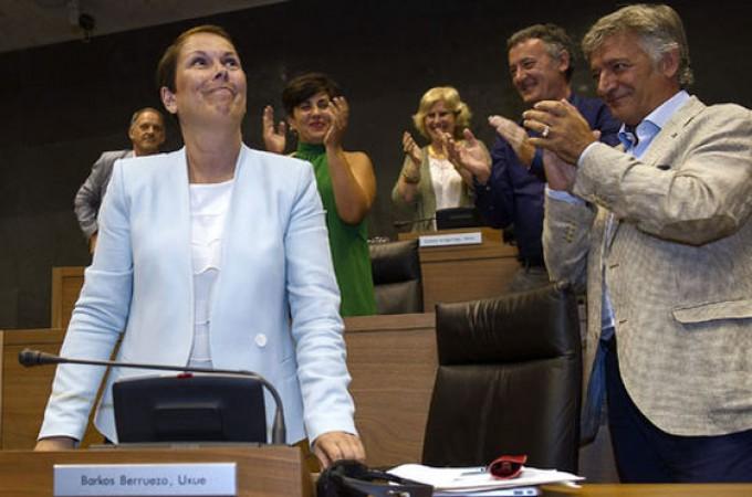 Uxue Barkos, nueva presidenta de Navarra