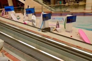 Exposición Lamoona en La Morea