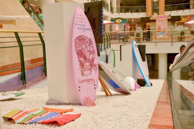 Lamoona presenta en La Morea sus últimas tablas de surf personalizadas