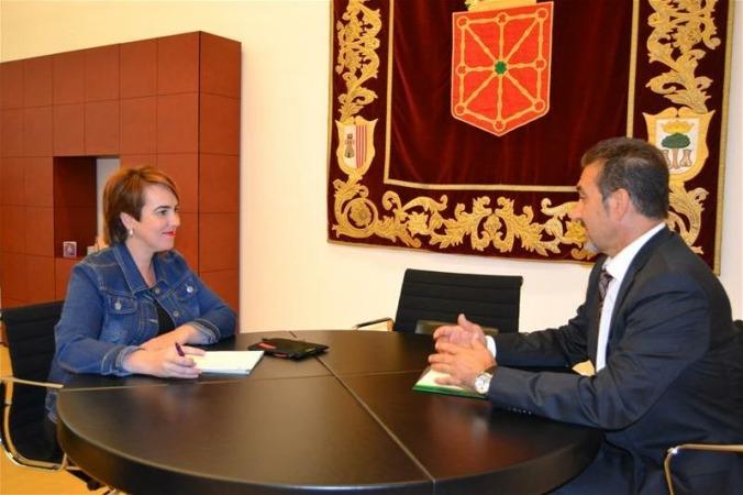 Ainhoa Aznarez y Juan Carlos Equiza