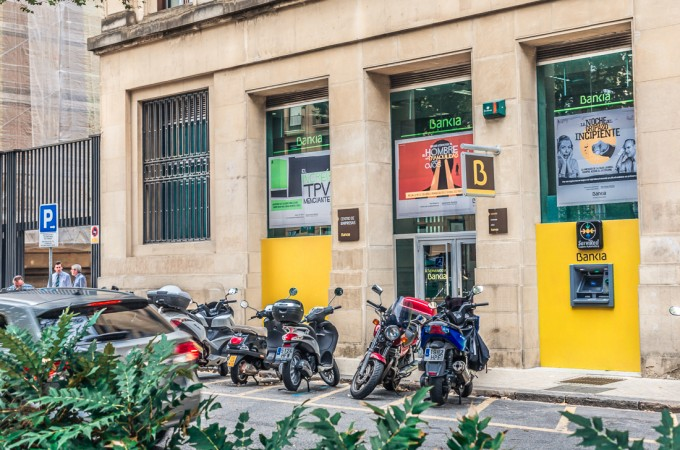 Bankia cuadruplica la concesión de crédito a empresas navarras