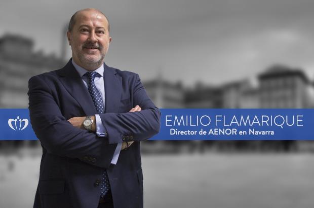 Emilio Flamarique. Director Aenor Navarra.