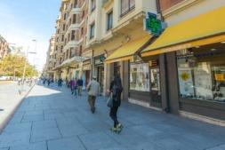 Pamplona tiene el segundo parque de viviendas en venta más antiguo de España.