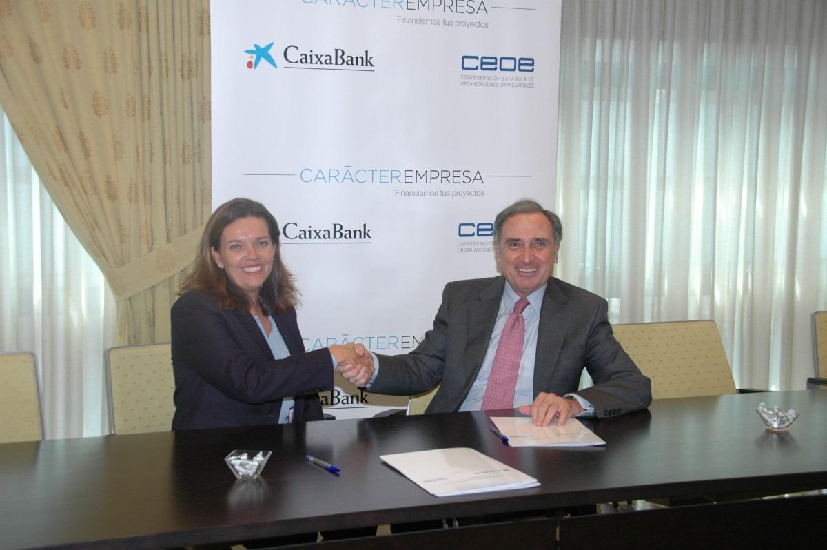 20151001 Adhesión CEN al convenio entre CaixaBank y la CEOE