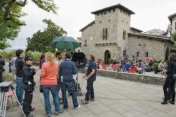 La diversidad paisajística de Navarra se ha visto reflejada este año en las localizaciones de los rodajes.