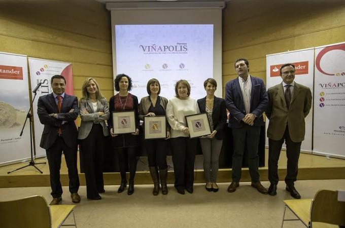 Cuatro mujeres protagonizan los premios Viñápolis a la Industria del vino y de la viña de Navarra