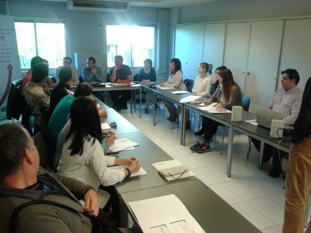 """Participantes en el encuentro """"Micropymes de economía social"""""""
