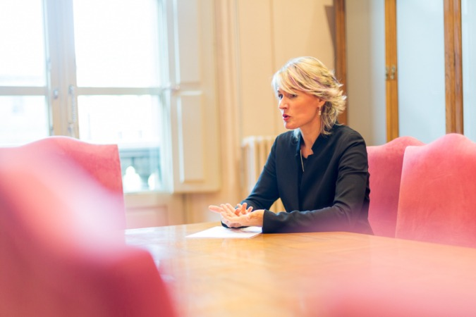 Maitena Ezkutari, directora general de Turismo del Gobierno de Navarra.
