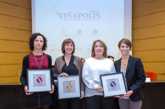 Vuelven los premios 'Viñápolis' a la industria del Vino y la Viña de Navarra