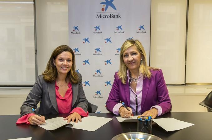 Microbank fomentará la actividad emprendedora de las mujeres en Navarra