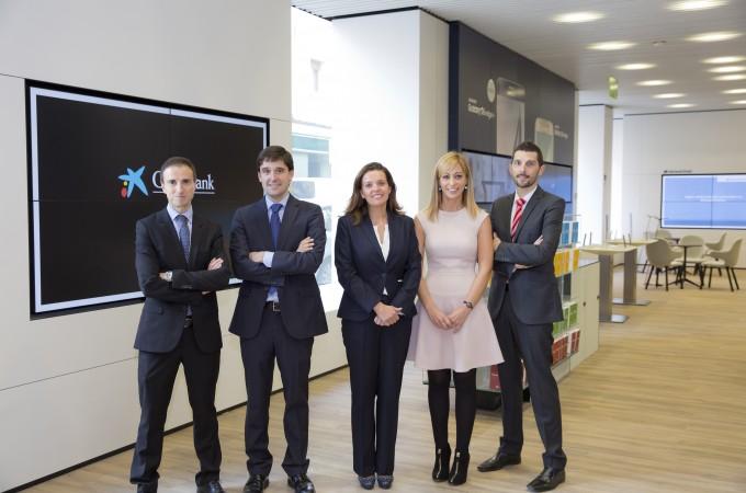 Caixabank implanta en Estella su nuevo modelo de oficina de atención al público